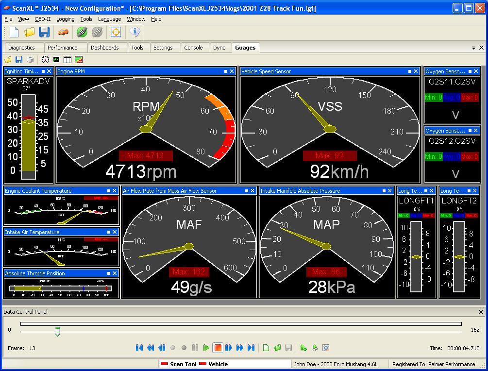 Palmer Pcmscan Obd Ii Scan Tool Amp Data Logging Software